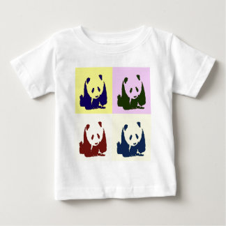 Pop-Kunst-Baby-Pandas Baby T-shirt