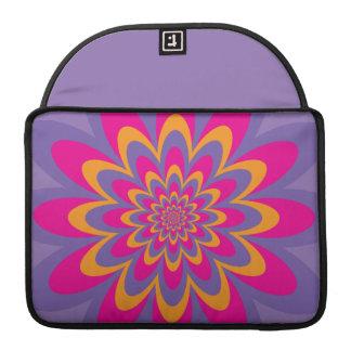 Pop-Kunst-Blume Sleeve Für MacBook Pro