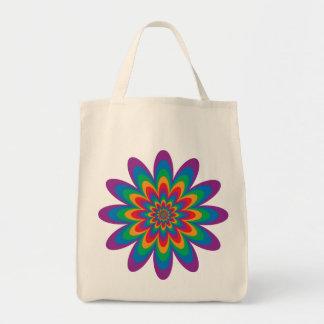 Pop-Kunst-Blume Tragetasche