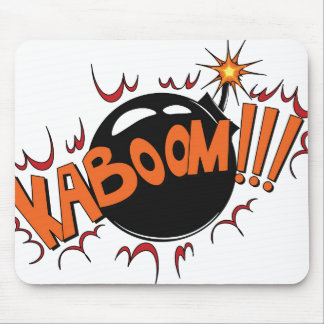 Pop-Kunst-Comic-Art KaBoom! Mousepads