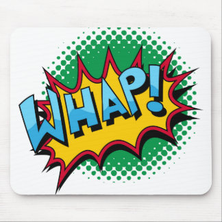 Pop-Kunst-Comic-Art Whap! Mousepads