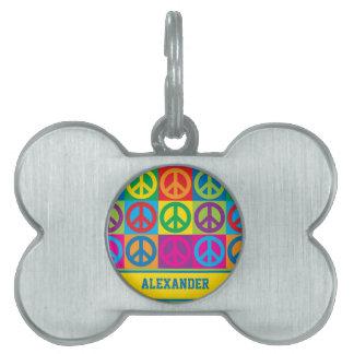 Pop-Kunst-Frieden Tiermarke