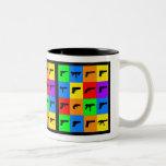 Pop-Kunst-Gewehre Kaffeetassen
