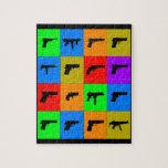Pop-Kunst-Gewehre Puzzle