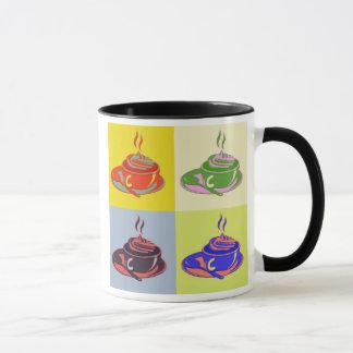 Pop-Kunst-Kaffee-Tasse Tasse