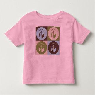 Pop-Kunst-Käse Kleinkind T-shirt