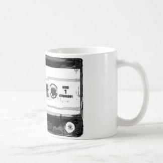 Pop-Kunst-Kassette Kaffeetasse