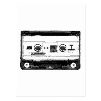 Pop-Kunst-Kassette Postkarte