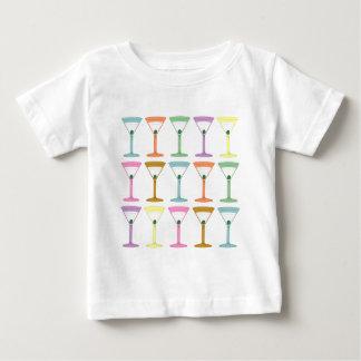 Pop-Kunst-Martinis Baby T-shirt