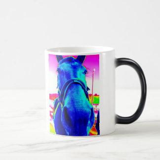 Pop-Kunst-PferdeTasse Verwandlungstasse