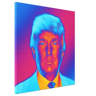 Pop-Kunst-Präsident Trump Leinwanddruck