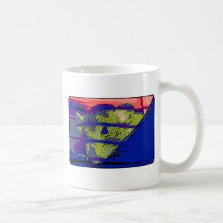 Pop-Kunst-Ratte Kaffeetasse