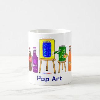 Pop-Kunst Tasse