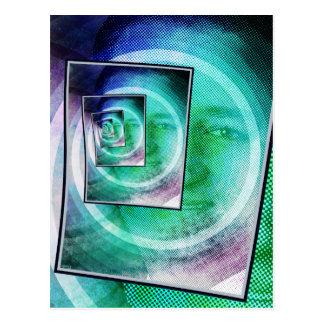 Pop-Kunst Ted Cruz Postkarte
