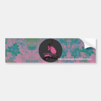 Pop-Kunst-Tintenfisch-Autoaufkleber Autoaufkleber