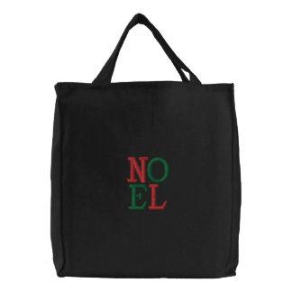 Pop-Kunst-Weihnachten-WEIHNACHTEN Bestickte Tasche