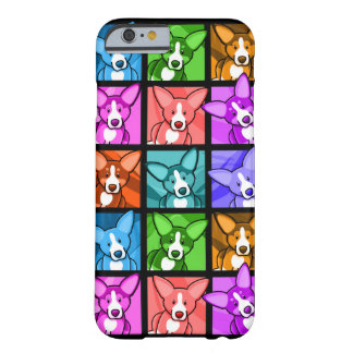 Pop-KunstCorgi iPhone 6 Fall Barely There iPhone 6 Hülle