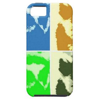 Pop-KunstLemurs iPhone 5 Schutzhülle