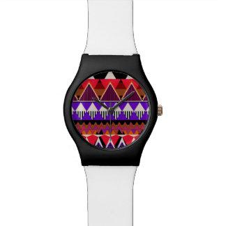 Pop-Neon Stammes- Armbanduhr