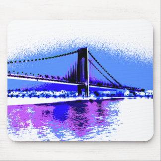 PopArt Brücke mousepad