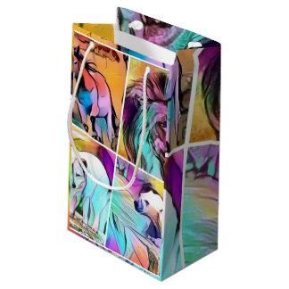 popArt Tier-Collage Kleine Geschenktüte