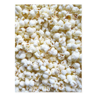 Popcorn-Beschaffenheits-Fotografie Postkarte
