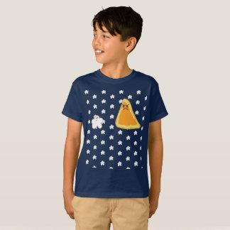 Popcorn gegen Nacho T-Shirt