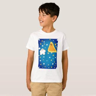 Popcorn gegen Nacho-Vorlage T-Shirt