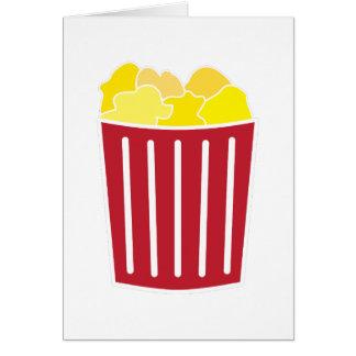 Popcorn Karte