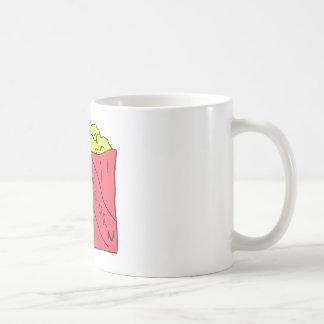 Popcorn-Kunst Kaffeetasse