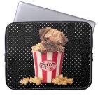 Popcorn-Mops Laptop Sleeve