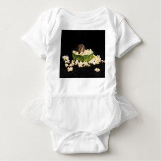 Popcornliebhaber Baby Strampler
