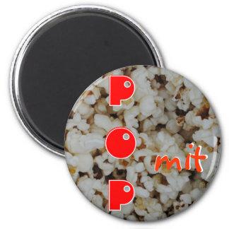 Popkorn Runder Magnet 5,7 Cm