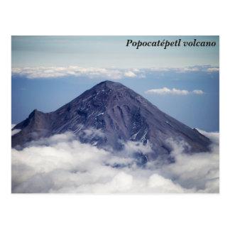 Popocatépetl Vulkan, Mexiko Postkarte