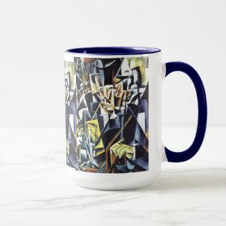 Popovas Kunst-Tassen - wählen Sie Art u. Farbe Tasse