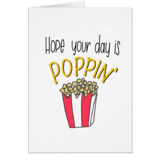 Poppin Karte