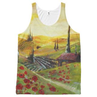 Poppy Hills Komplett Bedrucktes Tanktop