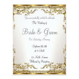 Populäre elegante   Hochzeits-Einladung Karte