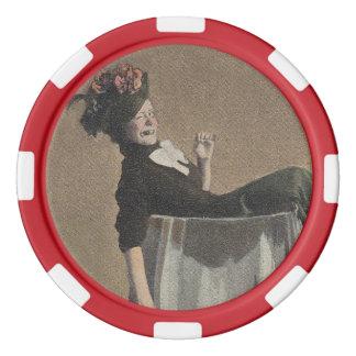 Populäre Vintage Poker Chip Set