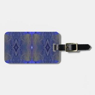 Populäres Königsblau-Stammes- Muster Gepäckanhänger
