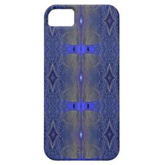 Populäres Königsblau-Stammes- Muster iPhone 5 Hülle