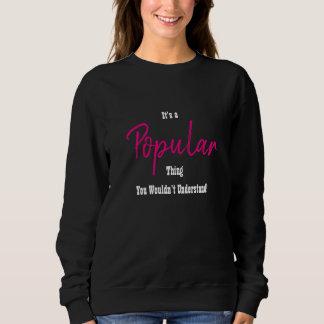 Populäres Sweatshirt