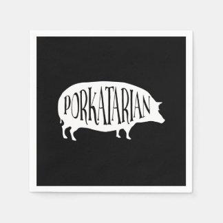 Porkatarian Vintages GRILLEN Schwein Serviette