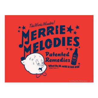 Porky Merrie Melodien behebt 2 Postkarten