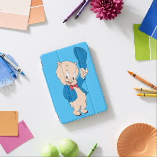 Porky wellenartig bewegender Hut des Schwein-| iPad Mini Cover