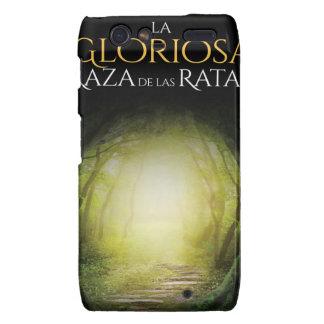 """Portada Del Libro """"La Gloriosa Raza de Las Ratas """" Motorola Droid RAZR Case"""