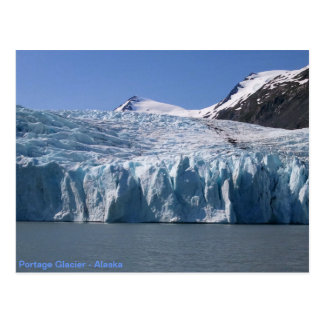 Portage Gletscherpostkarte Postkarte