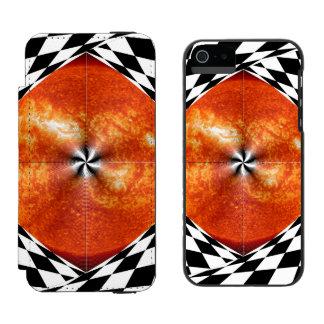 Portal zum Sun Incipio Watson™ iPhone 5 Geldbörsen Hülle