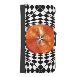 Portal zum Sun iPhone SE/5/5s Geldbeutel Hülle