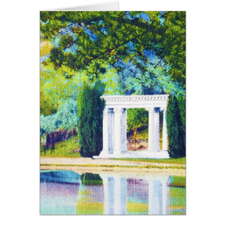 """Portale der Vergangenheit"" Golden Gate Park Karte"